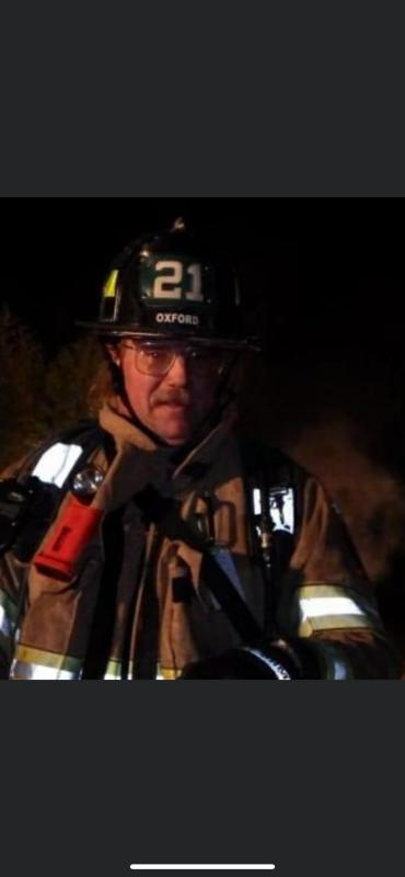 Firefighter Hastings in a recent photo.
